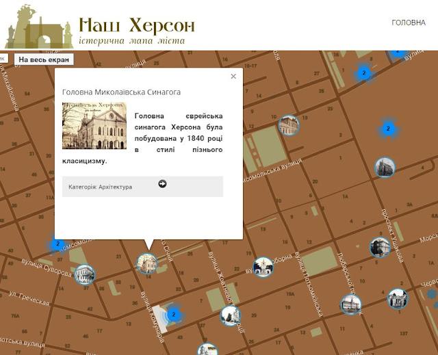 Історичні факти про Херсон