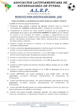 BENEFICIOS PARA ASOCIADOS 2020