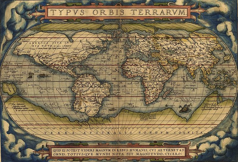 Retos terrcolas how old is earth science ortelius world map inspiring his own anticipation of gumiabroncs Images