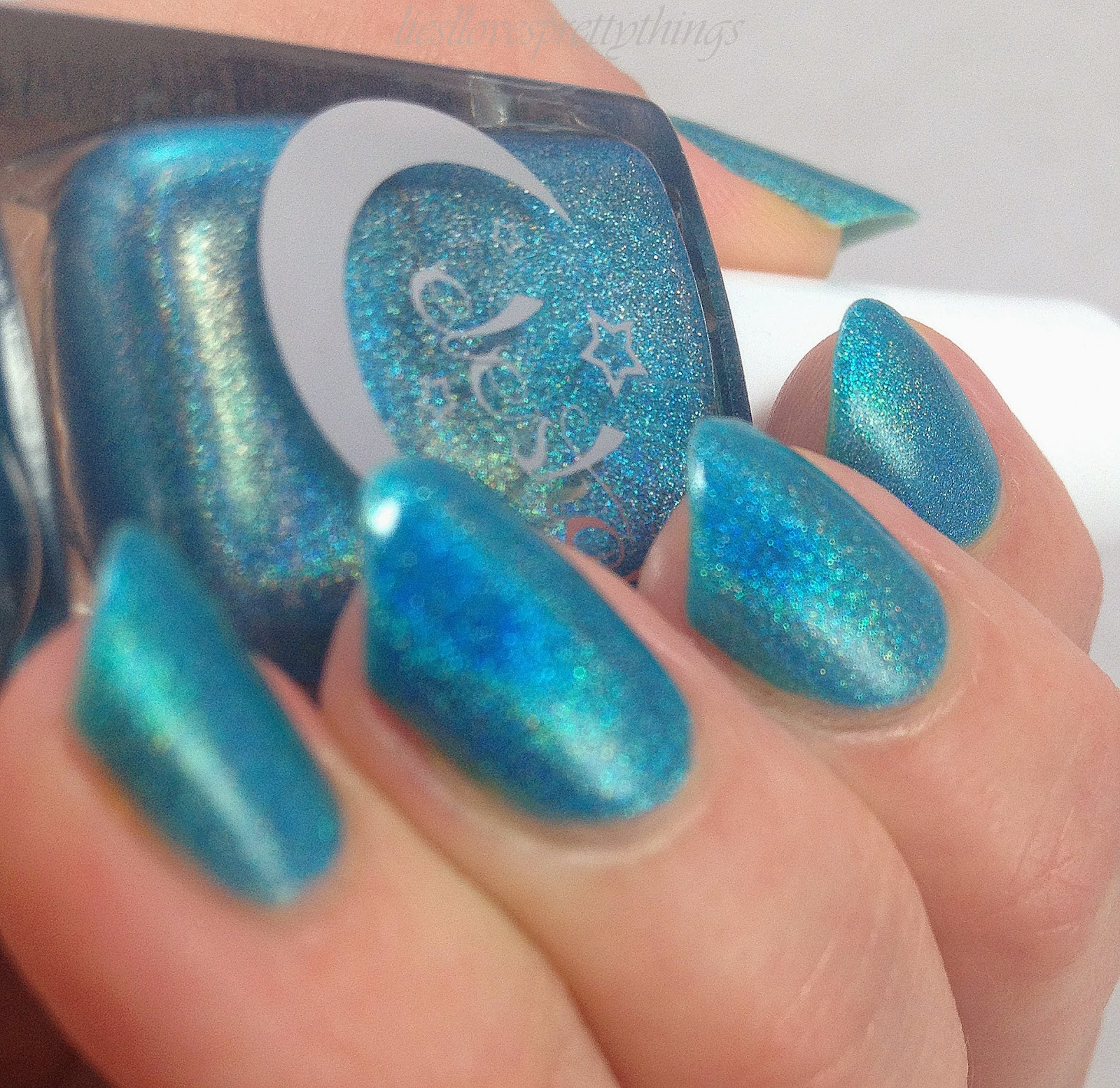 Celestial Cosmetics Inception-- The Electric You collection, Summer 2014