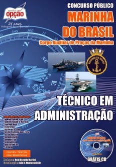 Apostila IMPRESSA Marinha do Brasil para Técnico Administrativo (CPA-CAP) - 2014