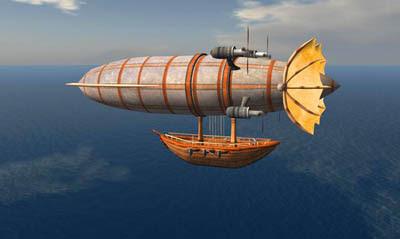Las antiguas aeronaves de la Atlántida