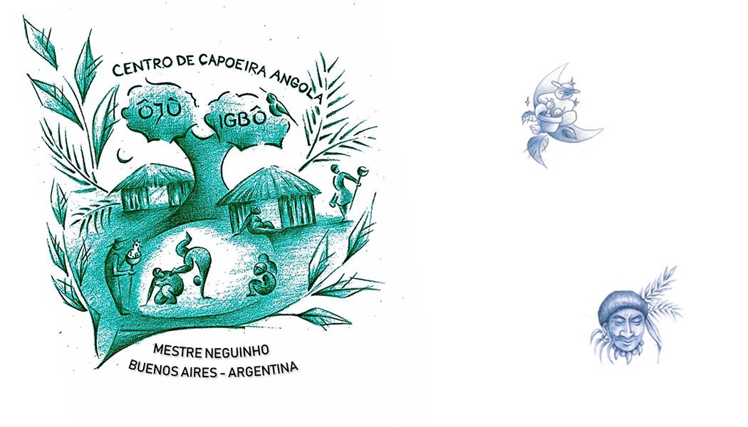 Centro de capoeira angola Ôjù Igbò - Mestre Neguinho