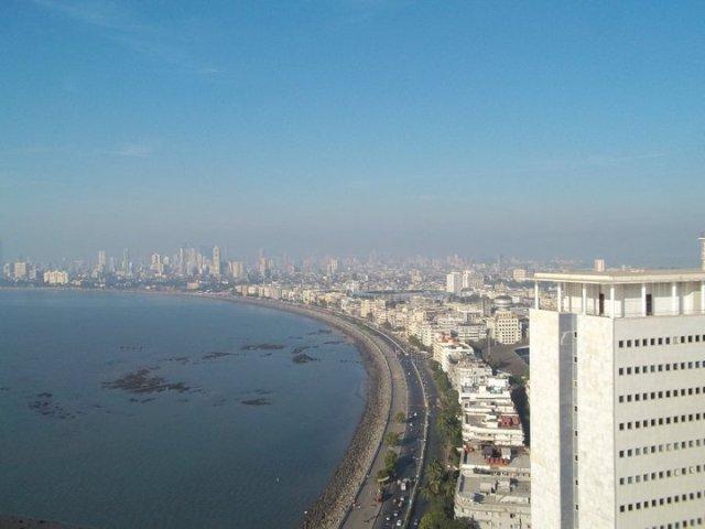 marine drive mumbai view