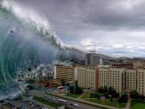 Gambar Ilustrasi Tsunami