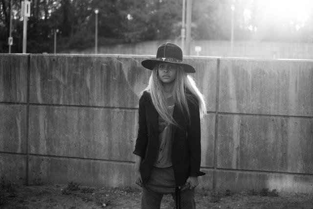 Erykah Badu Red Bull Music Academy Hat Hair