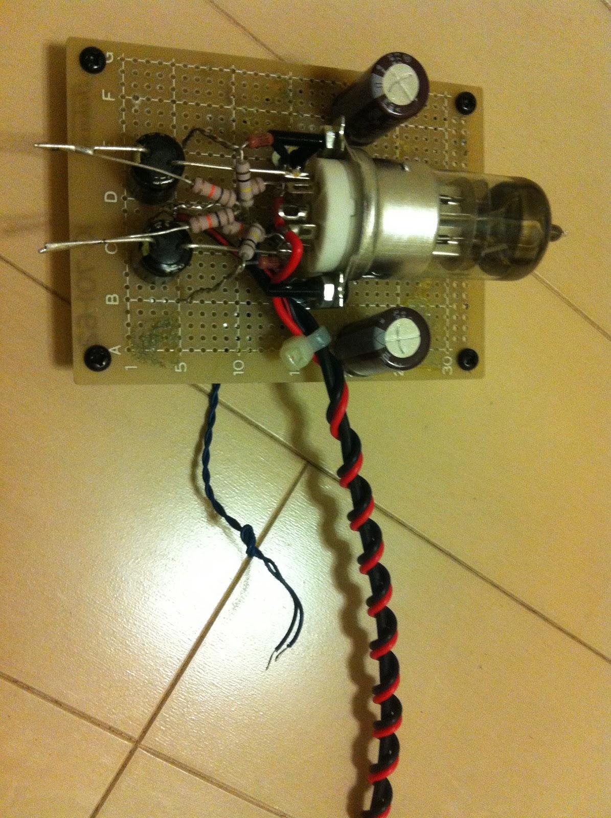 Low Voltage Tube Buffer Computere Elektro Lowjadi Circuit Schematic Diagram Heater Pake Dc Supply Sementara Ngikut Gc