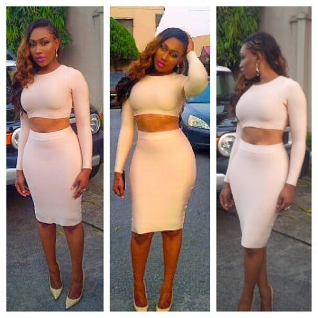 Ebube Nwagbo's Sexy Look to The Premiere of Husband Shopping
