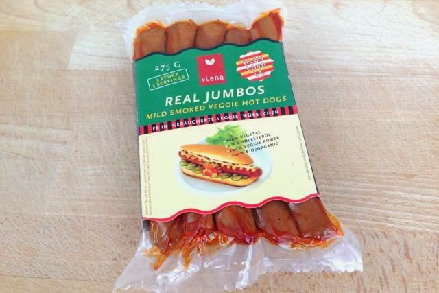 Viana Real Jumbos  vegan hot dog sausages