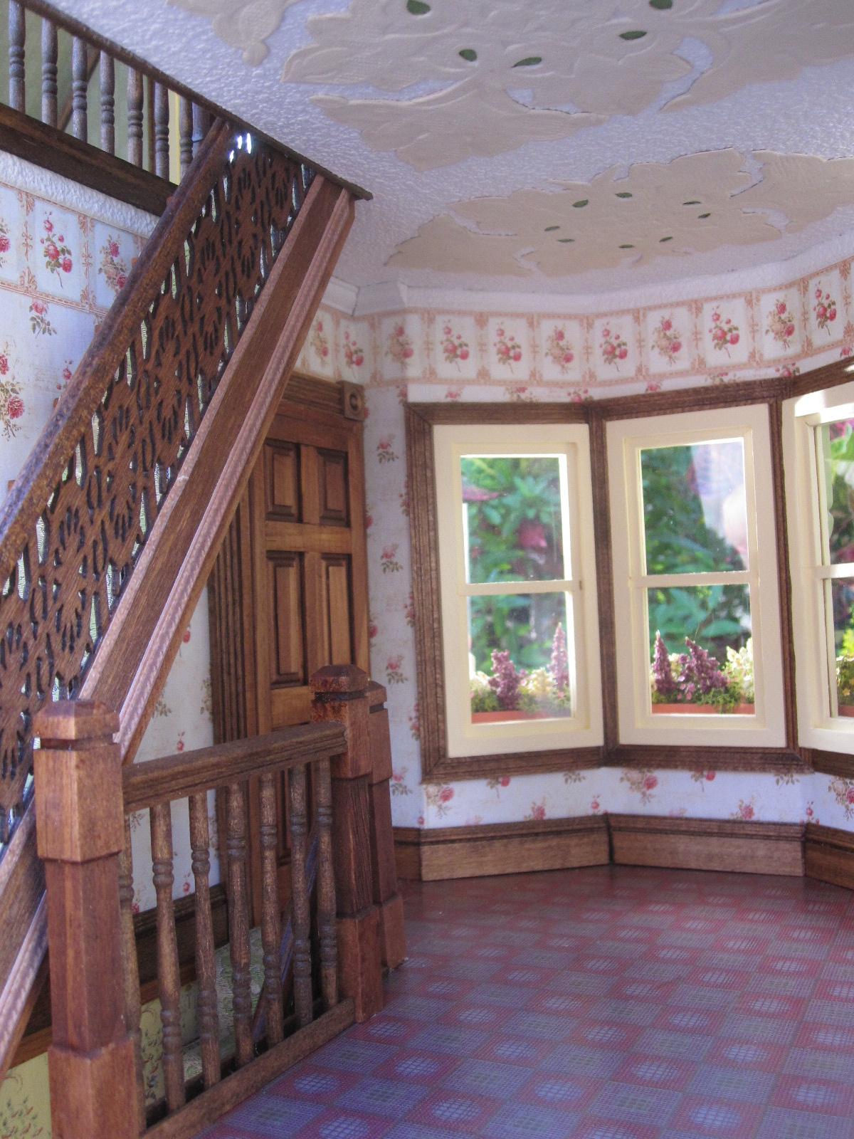 Dollhouses By Robin Carey New Gothic Victorian Dollhouse