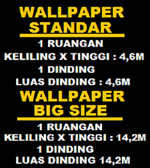 MENGHITUNG WALLPAPER