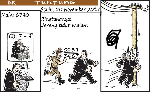 Prediksi Gambar Pak Tuntung Senin 20 11 2017