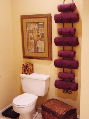 Genius Idea To Decorate Your Own Towel Bar For Small Bathrooms Architecture Home Landscaping