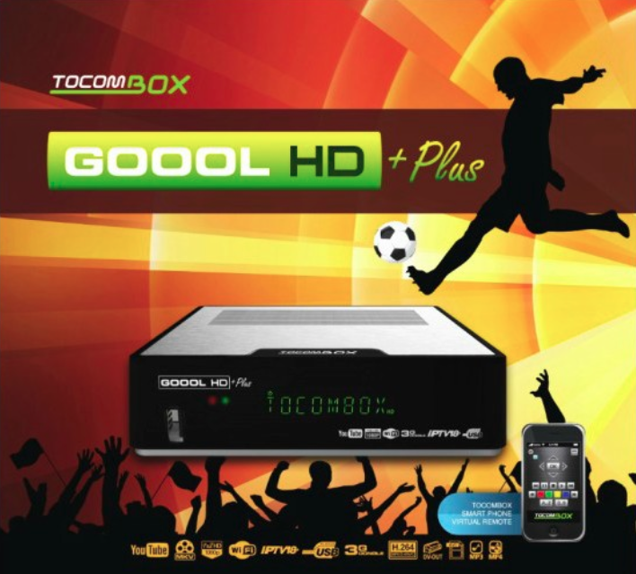 Tocom Goool HD plus tocomsa.info