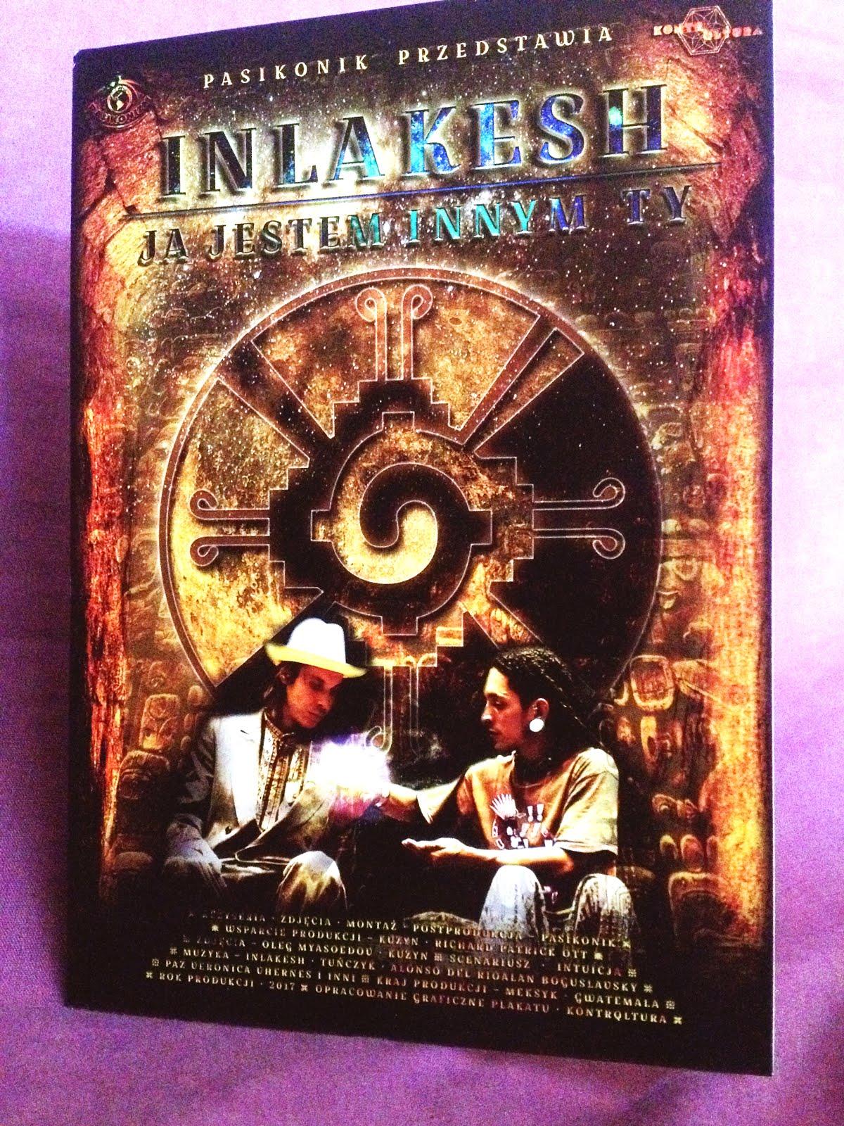 """Płyty DVD z filmem """"INLAKESH"""" jak najbardziej dostępne!"""
