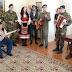 Άκουσε τα κάλαντα στο Δημαρχείο ο Δημαρχόπουλος – Στην Σταυρούπολη για ευχές