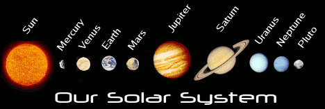 pictures of the solar system in order from the sun - photo #10