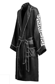 Men's Versace Logo Dressing Gown, Versace Cruise Collection for Men, H & M