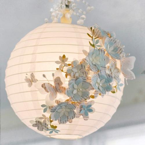 Decoraxpoco las lamparas de papel est n a la ltima - Decoracion de lamparas de papel ...