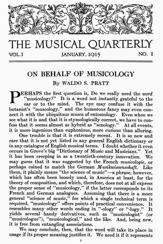 musicology now musicology turns  musicology now