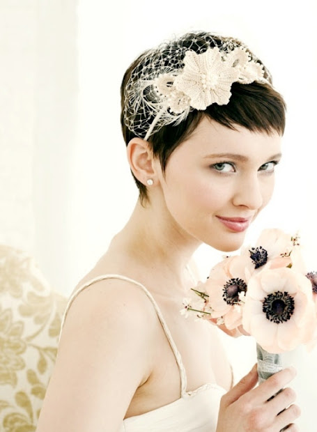 short wedding hairstyles latest