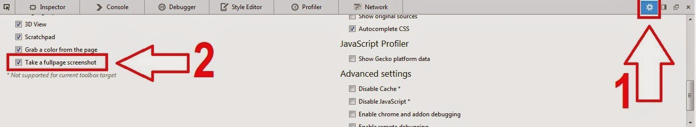 Cara Mengambil Screenshot Satu Halaman Penuh di Mozilla Firefox