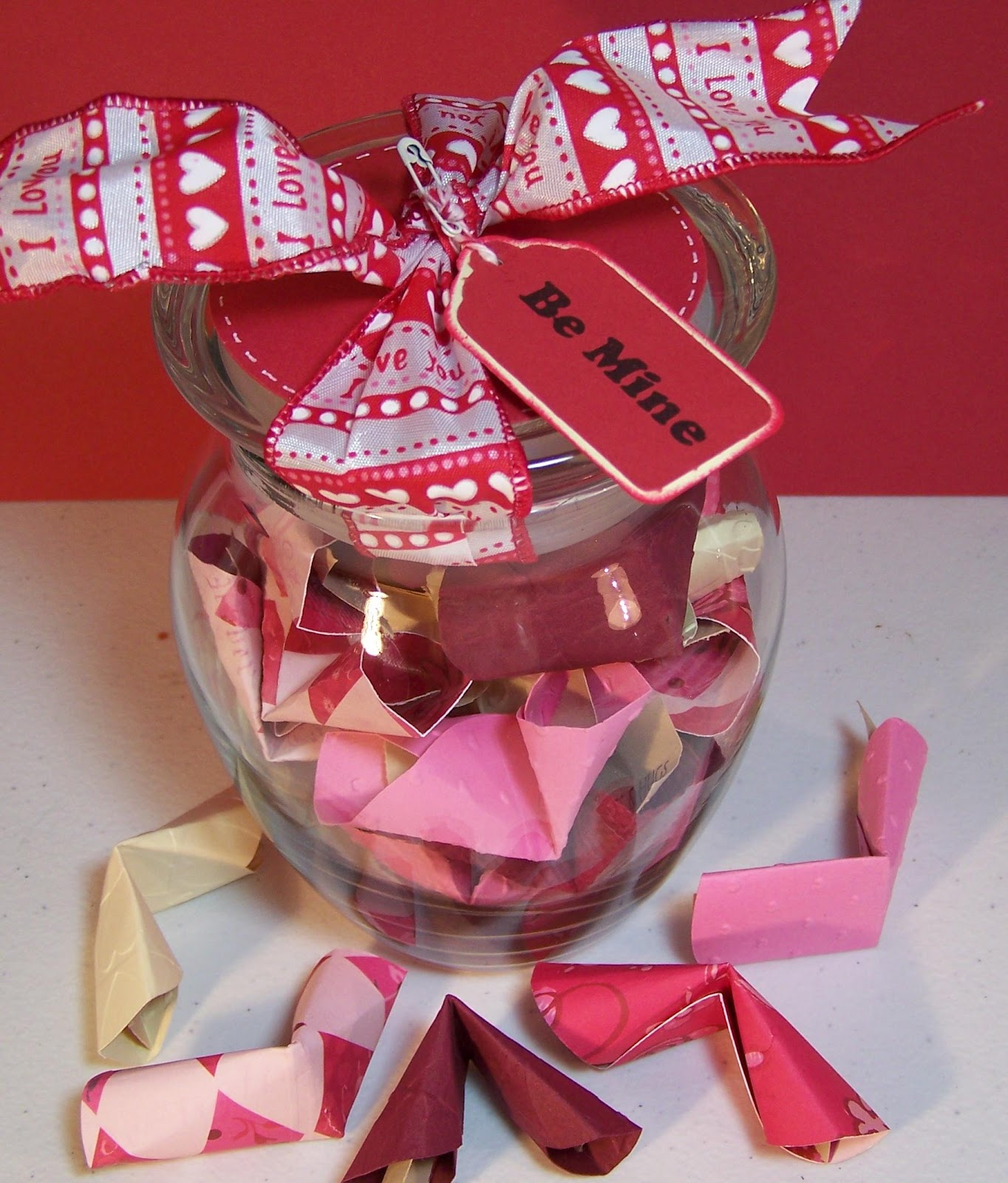 Been There Salvaged That: Valentine Fortune Cookies