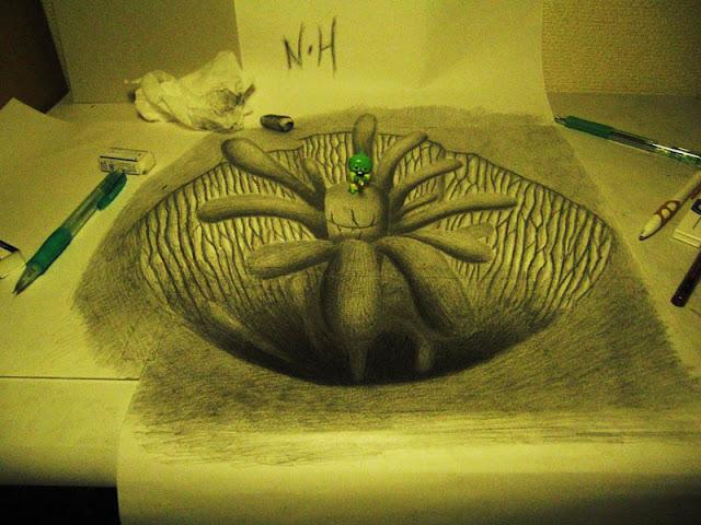 لوحات ثلاثية الأبعاد 3D+Pencil+Drawings+013