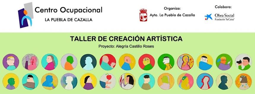 Taller de Creación artística. Centro Ocupacional La Puebla de Cazalla