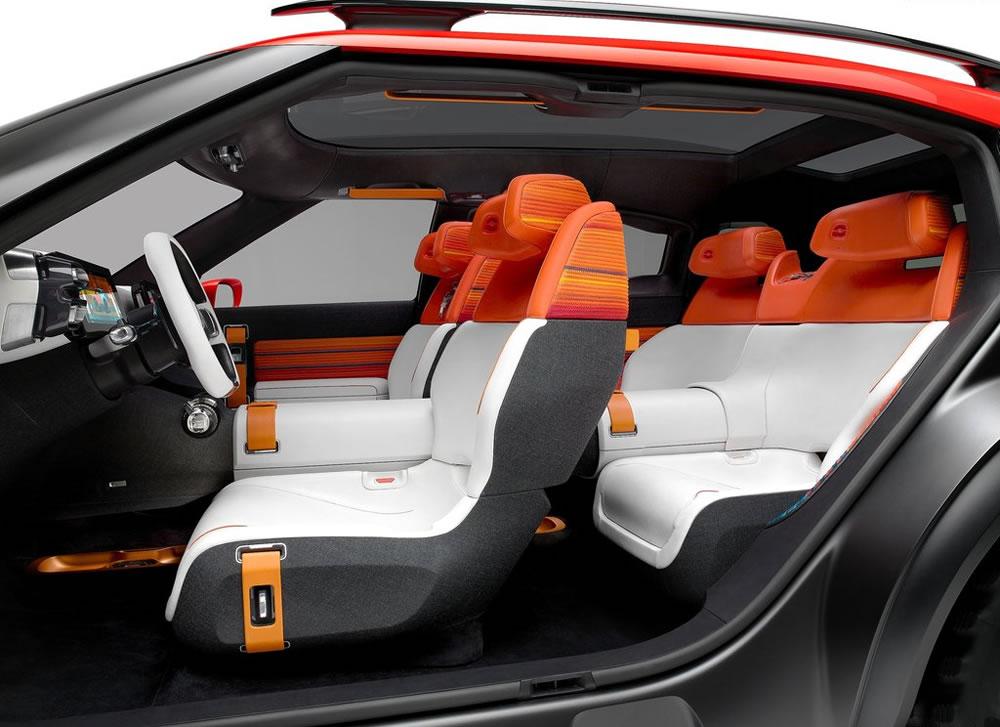 シトロエン「Aircross Concept」の室内画像