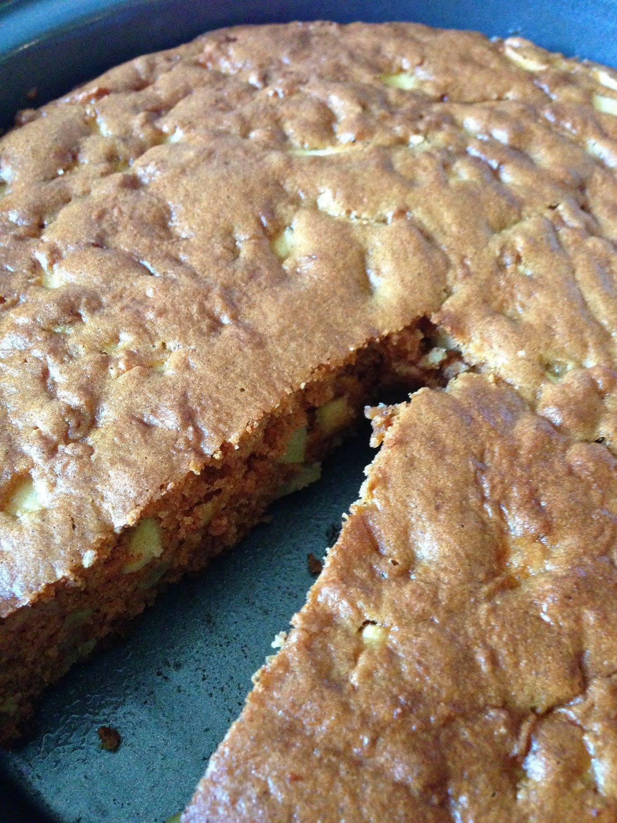 Amish Reader Easy Low Calorie Apple Cake