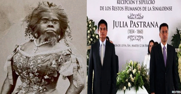 ape woman buried in mexico
