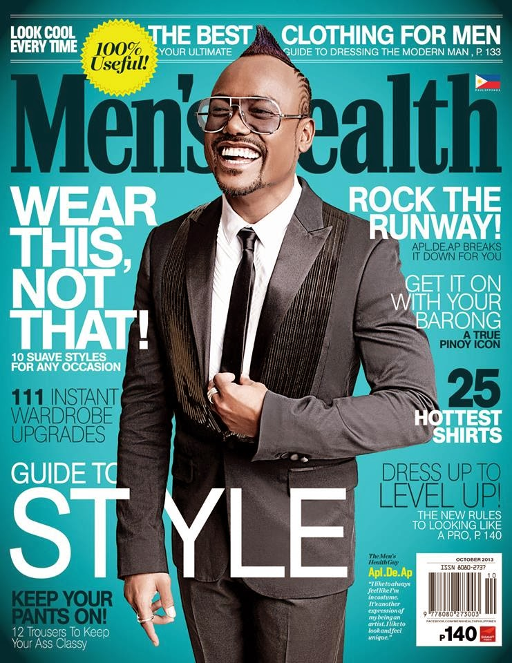 Meanwhile, Men's Health Guide to Style issue this month features Pinoy