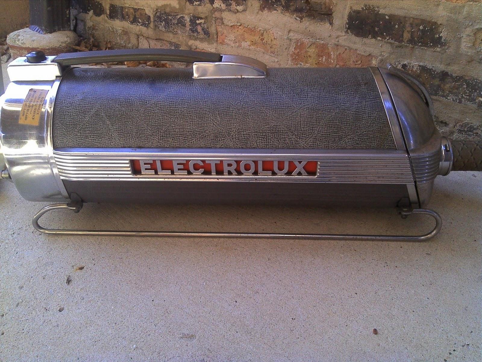 vintage electrolux xxx model 30 chrome canister vacuum working - Electrolux Canister Vacuum