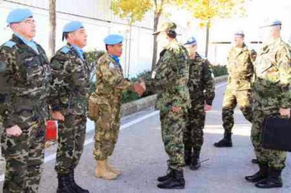 Jenderal Serbia Kunjungi Sektor Timur UNIFIL