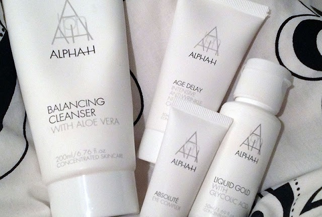 alpha h balancing cleanser liquid gold eye complex night treatment cream review beauty blogger