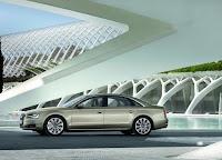 Audi A8 L 6.3 W12 FSI side view