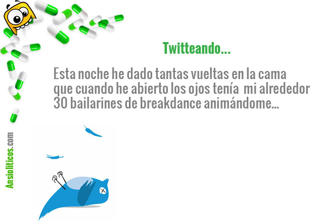 Tweet gracioso: Moverse en la Cama