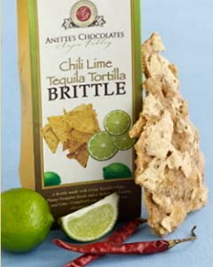 is Tequila Lime Chili Brittle, flavored with a hint of spice and lime ...