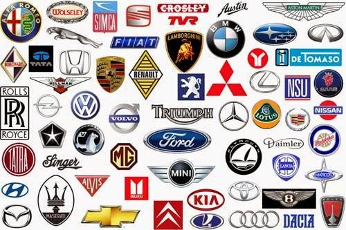 Cars Logos And Names List >> All Car Brands List