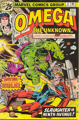 COMICS Marvel Omega the Unknown