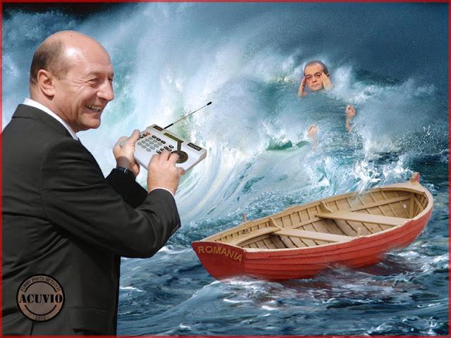 Funny photo Traian Basescu Guvernare Romania