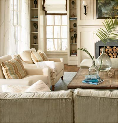 Coastal living room design ideas room design inspirations for Coastal living ideas