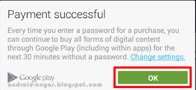 Payment Successfully How to buy premium apps Google Play