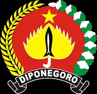 Lambang Pataka Komando Daerah Militer ( Kodam ) IV Diponegoro