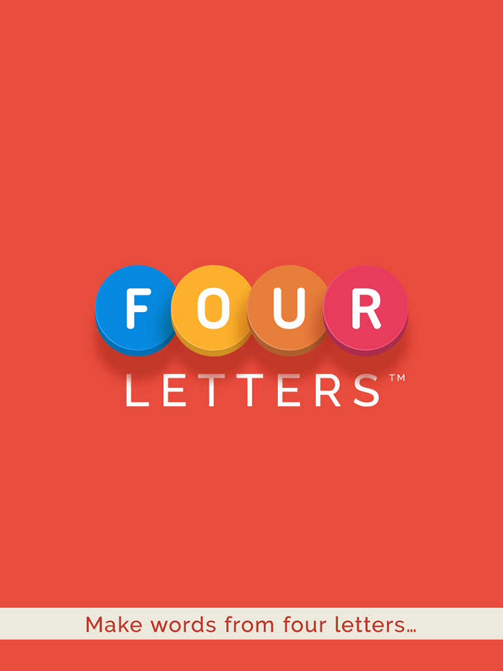 Four Letters Free App Game By Prodigy Design Limited T/A Sidhe Interactive