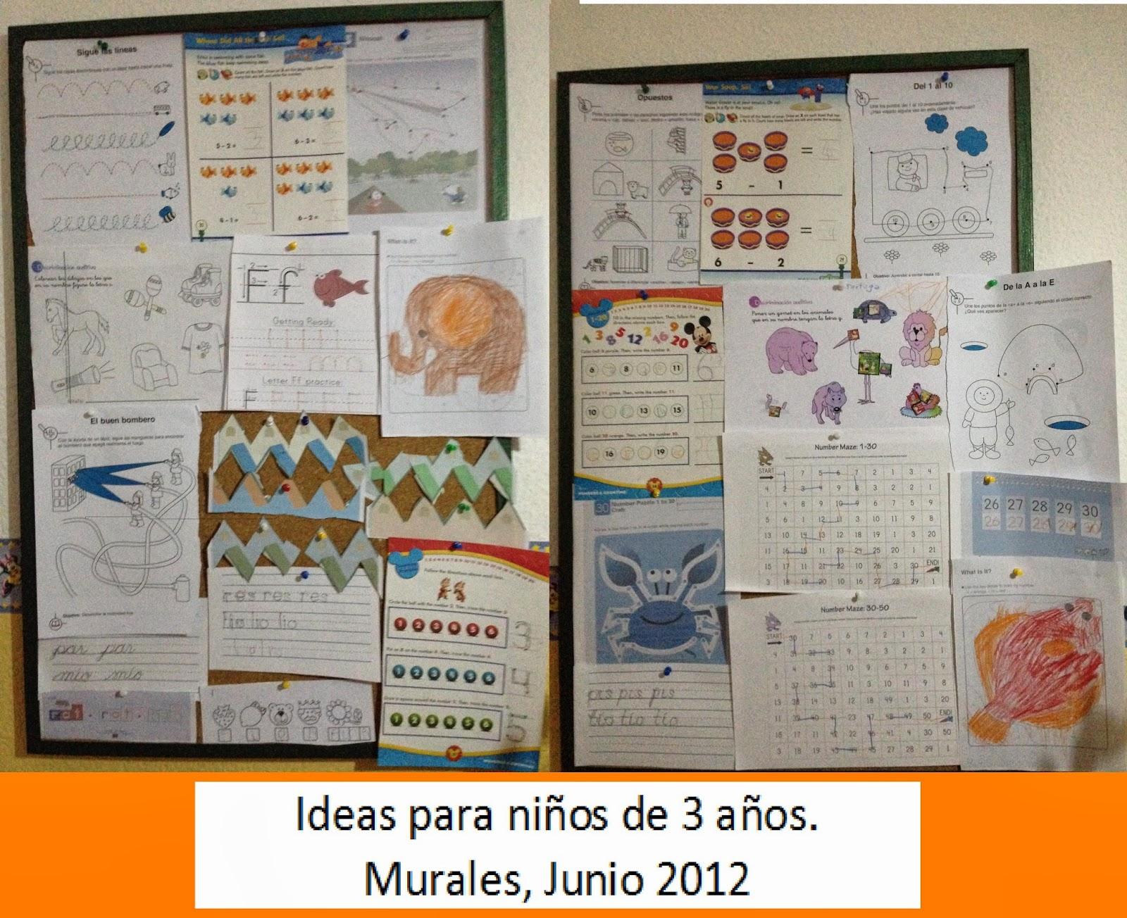 Ideas para niños de 3 años, educacion, hs, motricidad fina