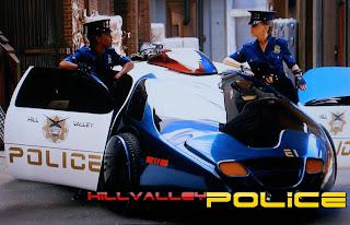 Automóveis do futuro - Hill Valley Police