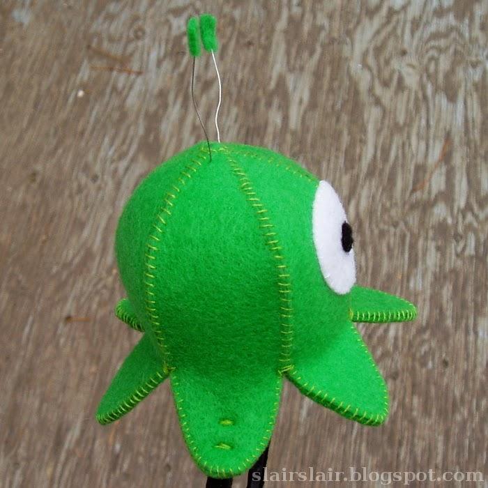Brain Slug Pattern to Attach a Brain Slug to