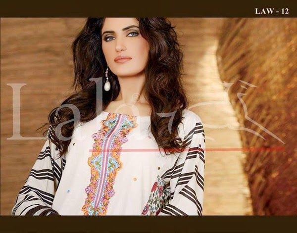 LALA La Femme Winter Eid Collection 2014